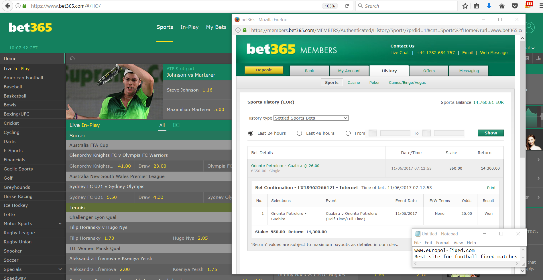 Sure Fixed Matches odds 30