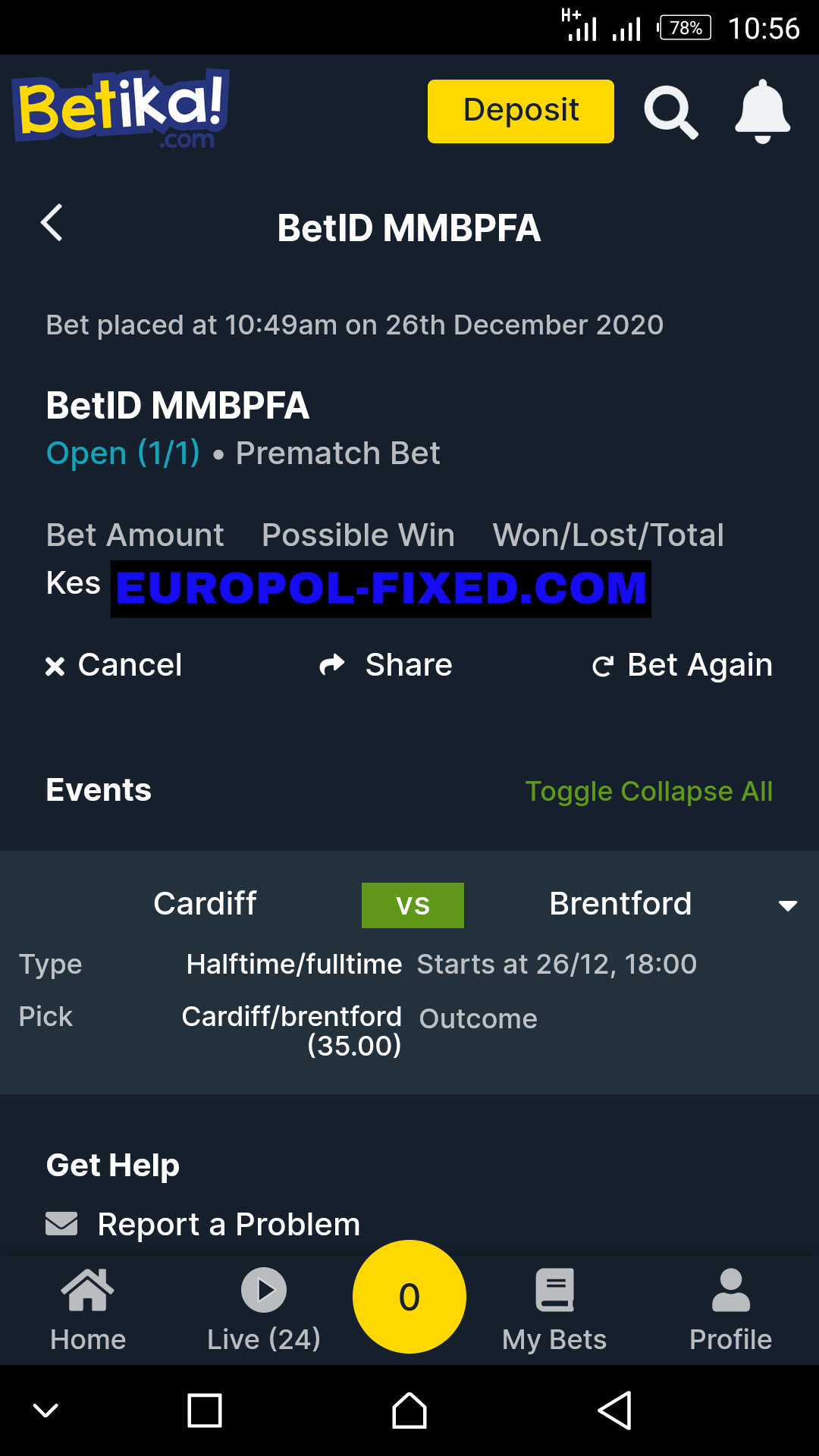 FIXED MATCHES HT FT WINNING GAMES